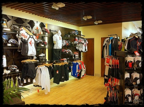 Specialized clothing display